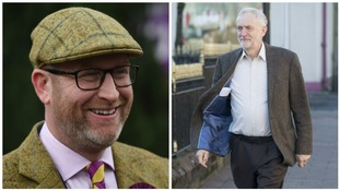 Paul Nuttall (left) and Jeremy Corbyn