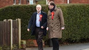 Jeremy Corbyn hits campaign trail in Hanley, Stoke