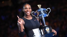Serena Williams wins the Australian Open tennis championships