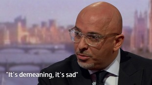 Conservative MP Nadhim Zahawi was born in Iraq