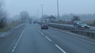 A12 to be partially closed