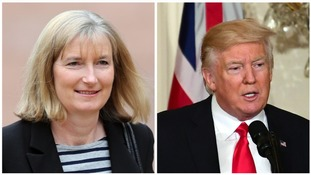 Trump 'a sickening piece of work' says Devon MP