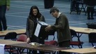 Counting staff in Newport 