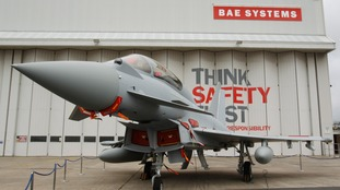 Activists 'trying to disarm warplanes' arrested at BAE Systems' site