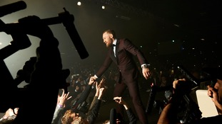 UFC star Conor McGregor entertains thousands of fans in Manchester
