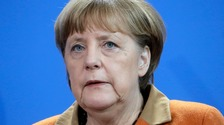 German Chancellor Angela Merkel led criticism of Trump's executive order over the weekend.