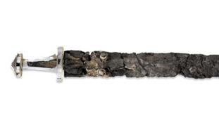 Sutton Hoo treasures - Sword