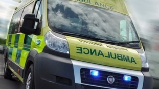 Five taken to hospital after car crash