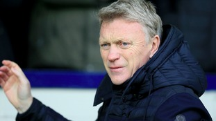 David Moyes is still looking to bring in a striker in the January transfer window