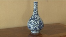 Rare vase waiting for new owner
