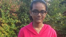 Police are urgently trying to trace 12-year-old Shahrin Ahmed who failed to return home from her school in Walsall yesterday afternoon.