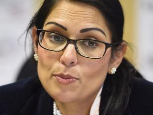 Secretary of State for International Development Priti Patel