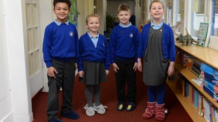 Slippers could soon become part of the school's uniform.