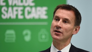 The petition against Jeremy Hunt came during disputes with junior doctors on pay and NHS timetabling.