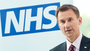 Campaigners called for Jeremy Hunt's tenure as health secretary to end.