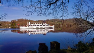 MV Teal on Windermere.