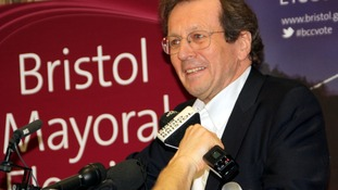 First day for Bristol's new mayor
