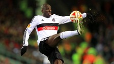 Demba Ba made 54 appearances for Newcastle United