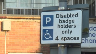 Possible new charge for disabled drivers