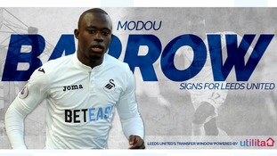 Leeds United bring in Swansea City winger Modou Barrow