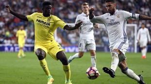 Alfred N'Diaye in action in La Liga