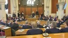 Dr Rowan Williams received his honour at the Guildhall in Canterbury