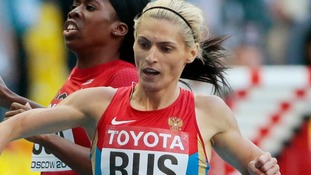 Russia stripped of 2012 Olympics relay silver as sprinter tests positive for banned substance