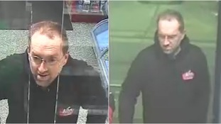 Police want to identify the man in the CCTV images.