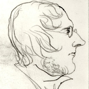 A self-portrait of Branwell Brontë