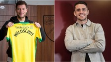 Yanic Wildschut replaced Robbie Brady at Norwich City.