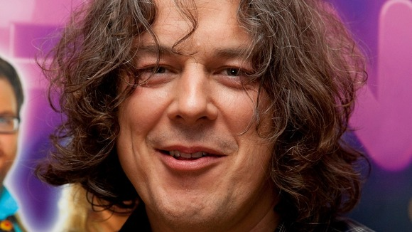 Alan Davies during the live final of Show me the Funny at Hammersmith Apollo, London