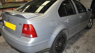 Gareth Dack's car