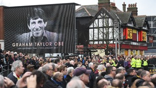 Thousands of Watford fans turned out to pay their respects to the club's most celebrated manager.