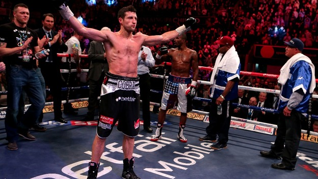 A triumphant Froch retains his world title