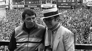 Sir Elton said he and Graham Taylor formed an 'unstoppable force of nature'.