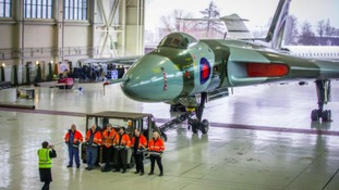 Vulcan bomber owners vow plane will return to public view after 'hibernation'