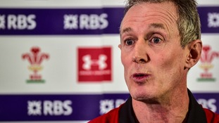 Wales' interim coach Rob Howley