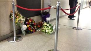 Memorial at Kings Cross station