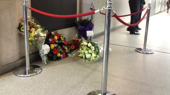 Memorial at Kings Cross underground