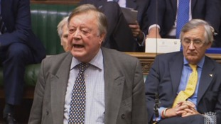 Ken Clarke speaks in Parliament during the Brexit debate