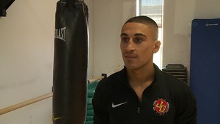 Box office hit: Fighter prepares for TV bout
