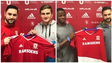 Pedro Silva Torrejon (left) and William Opoko Asiedu (right) have both signed for Middlesbrough FC's academy
