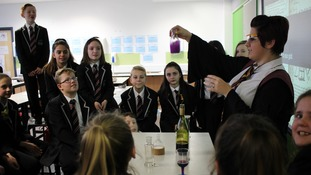 The children learned how to brew potions.