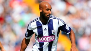 Nicolas Anelka in action for WBA