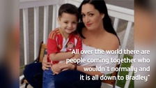 The mother of Bradley Lowery has spoken exclusively to ITV Tyne Tees