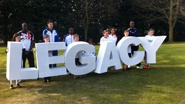 Athletes at the London Youth Games