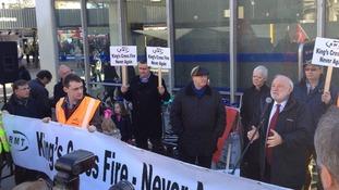 Kings Cross protest