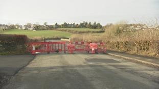 The bridge remains closed.