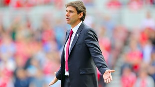 Aitor Karanka says he is still 'happy' as Middlesbrough Head Coach despite a frustrating January transfer window
