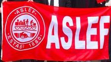 Aslef sign